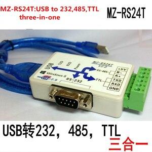 Image 1 - FT232 USB כדי 232 485 ttl USB כדי RS232 USB יציאה טורית מודול usb לcom ממיר מבודד סידורי מודול /הפוטואלקטרי בידוד