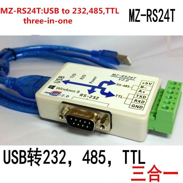 FT232 USB כדי 232 485 ttl USB כדי RS232 USB יציאה טורית מודול usb לcom ממיר מבודד סידורי מודול /הפוטואלקטרי בידוד