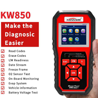ODB2 Scanner Auto Diagnostic Scanner Full Function KONNWEI KW850 Code Reader Car Diagnostic Tool Multi languages free update