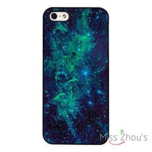 Bright Blue Nebula Sky Stars back skins mobile cellphone cases cover for iphone 4 4s 5