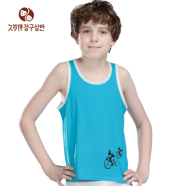 dda223c52 Factory children clothing Kids Cool Summer Boys Casual Vest Children  Sleeveless waistcoat sweatshirt tank top a piece 7502