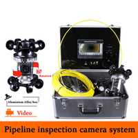 New 360 degree industrial endoscope underwater video system pipe wall inspection system Sewer Camera DVR waterproof HD 1000TVL