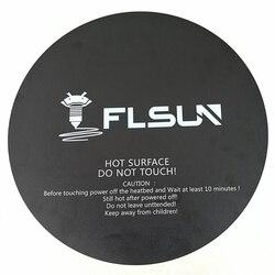 2 ชิ้น Flsun QQ 3D เครื่องพิมพ์กระดาษความร้อนกระดาษ 260*260 มิลลิเมตรเทปกาวสำหรับ Flsun QQ