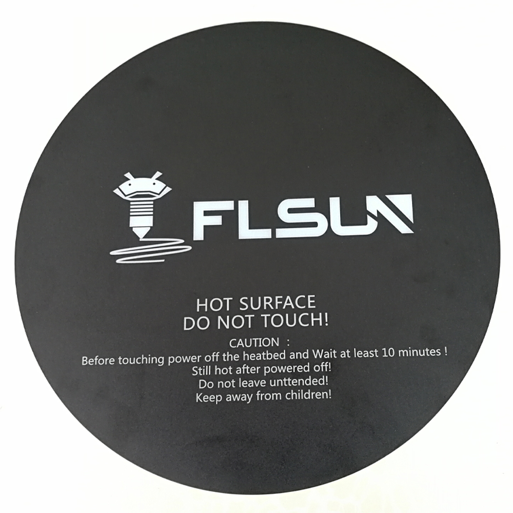 2 PCS Flsun QQ 3D Printer Heat Paper 260*260mm Masking Tape For Flsun QQ