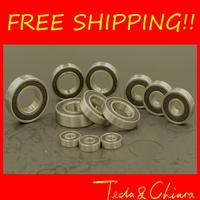 10Pcs 6201-2RS 6201RS 6201rs 6201 rs Deep Groove Ball Bearings 12 x 32 x 10mm Free shipping High Quality
