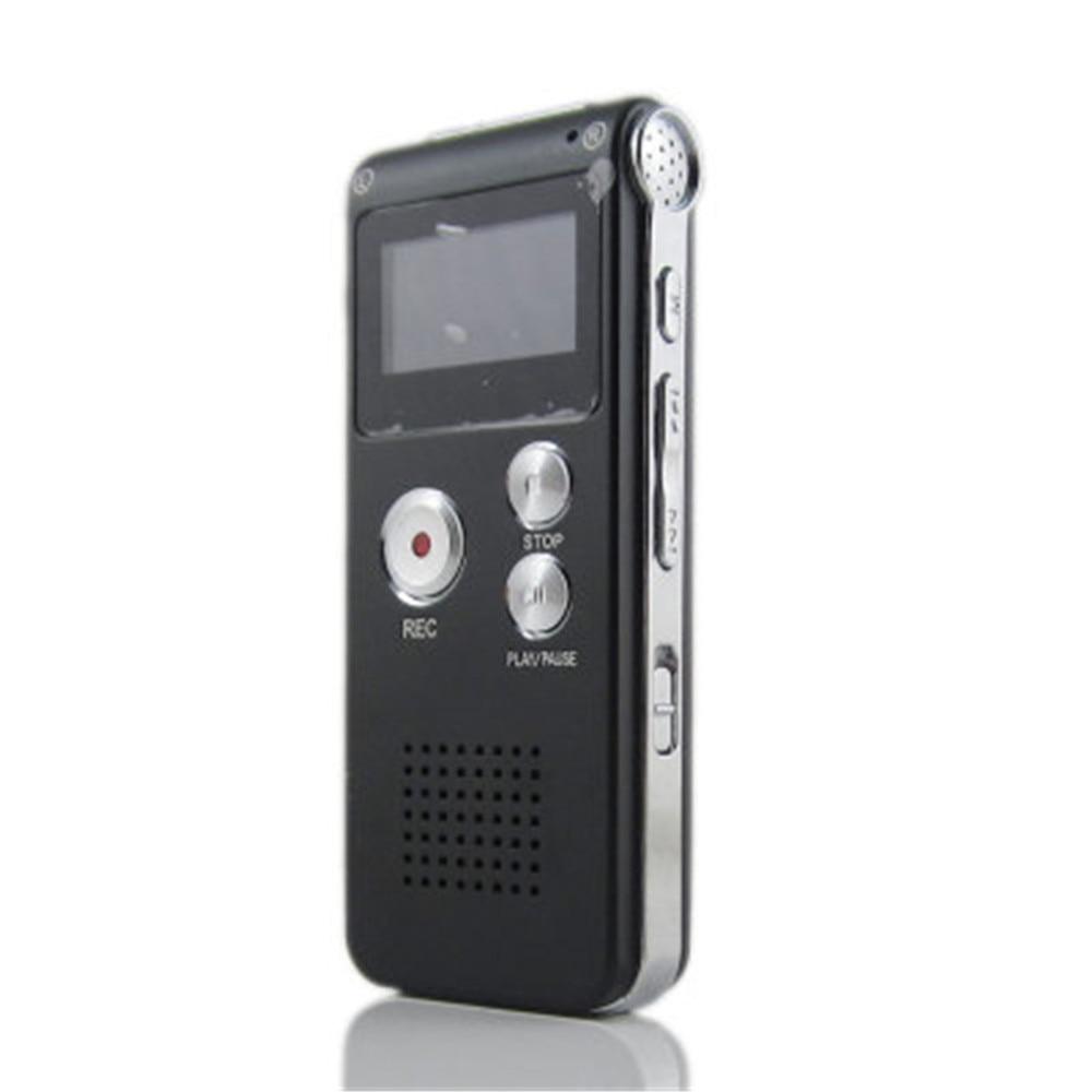 Wiederaufladbare 8 Gb Digital Audio Voice Recorder Diktiergerät Telefon Mp3 Player Et Seien Sie Freundlich Im Gebrauch Tragbares Audio & Video Unterhaltungselektronik