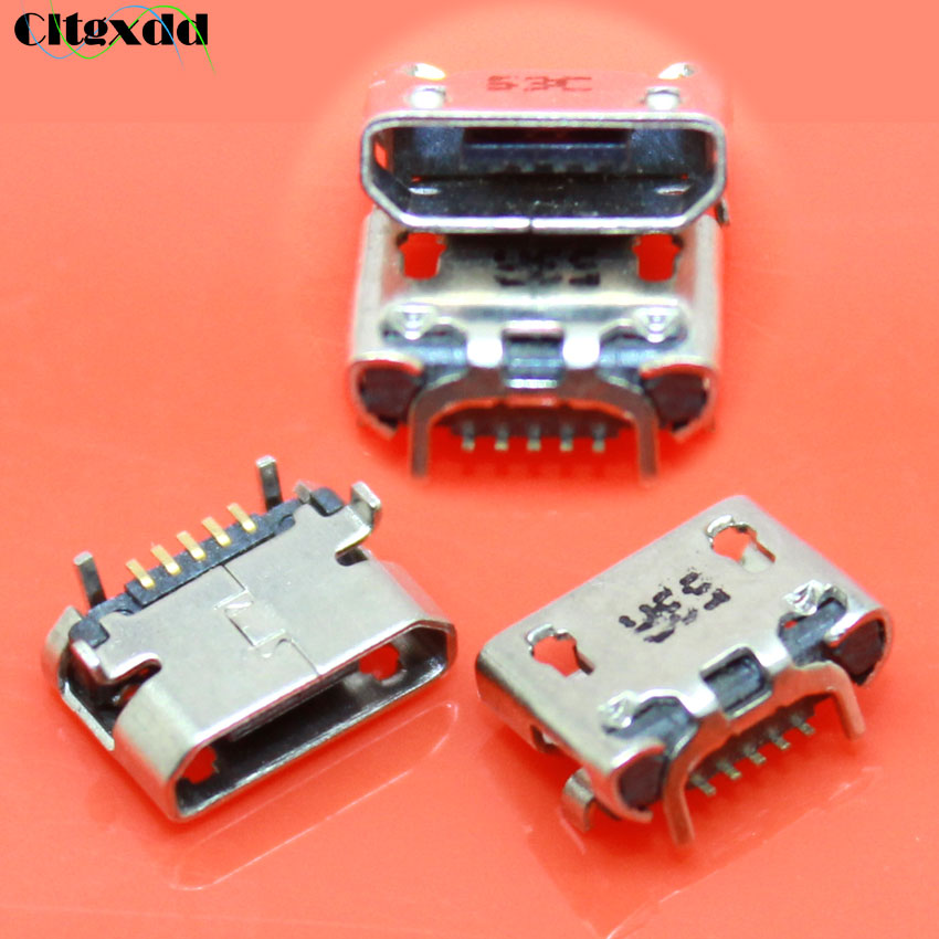 cltgxdd 1pcs For Asus Fonepad7 2014 FE170CG ME170C ME170 K012 5 pin Micro usb jack connector charging port For <font><b>HTC</b></font> <font><b>HD2</b></font> <font><b>T8585</b></font> G10 image