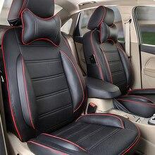 Искусственная Кожа Автокресло Обложка набор для MG 3SW сидений автомобилей аксессуары для интерьера прочная крышка сиденье защита черный автокресла