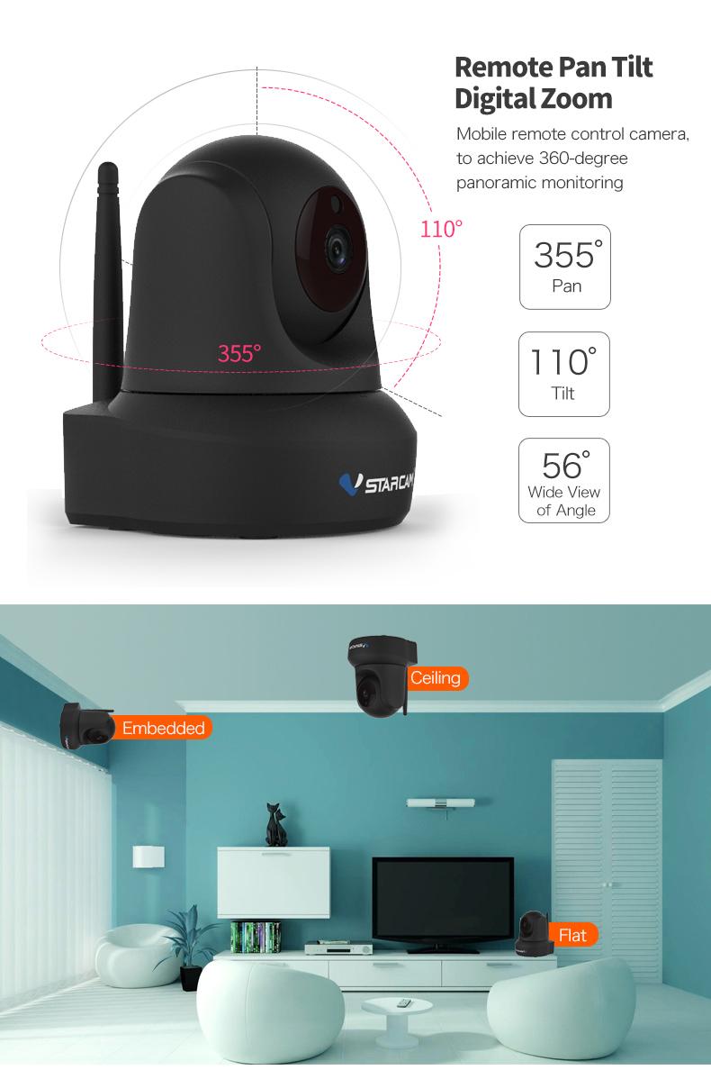 Vstarcam C29S 1080P Full HD Wireless IP Camera CCTV WiFi Home Surveillance Security Camera System Indoor PTZ Camera baby monitor 18