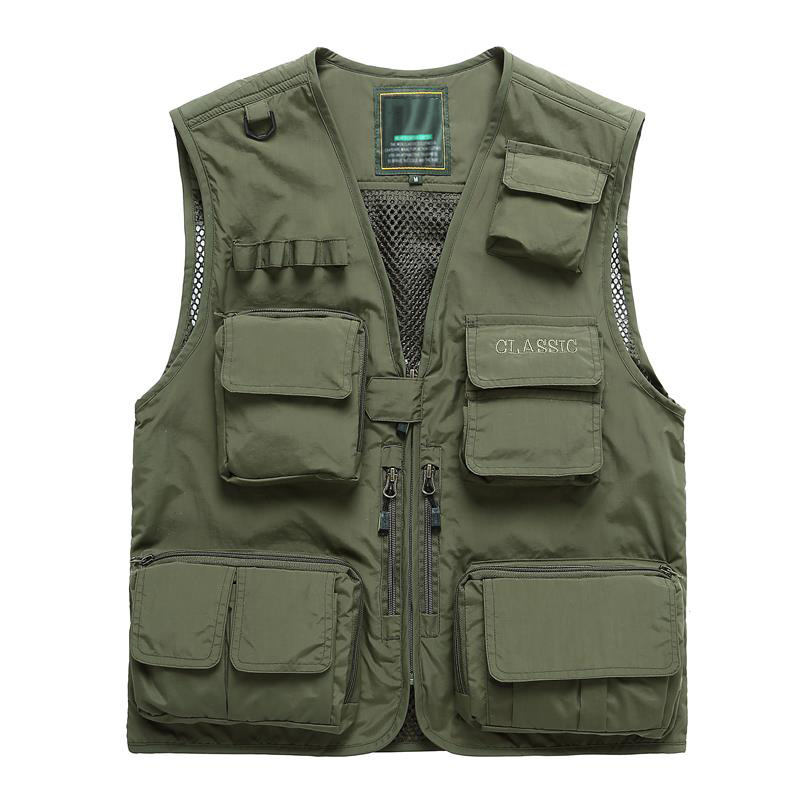New arrive summer fish men multifunctional waterproof for Best fishing vest