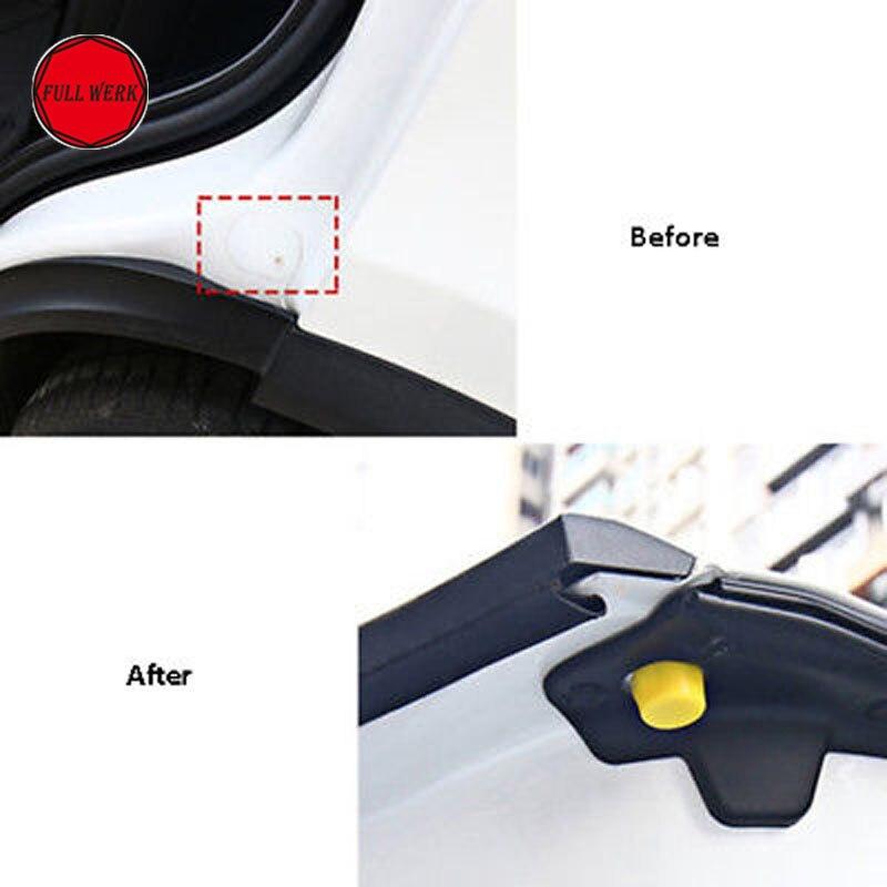 Резиновая двери автомобиля фиксатор крышки защитную Кепки протектор Авто аксессуары для интерьера для Тесла модель X (1 пара)