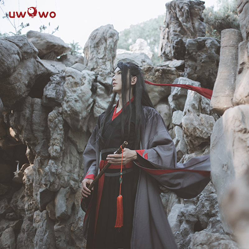 Image 5 - UWOWO Wei Wuxian The Yiling Patriarch Cosplay Grandmaster of Demonic Cultivation Costume Wei Wuxian Mo Dao Zu Shi Costume Men-in Anime Costumes from Novelty & Special Use