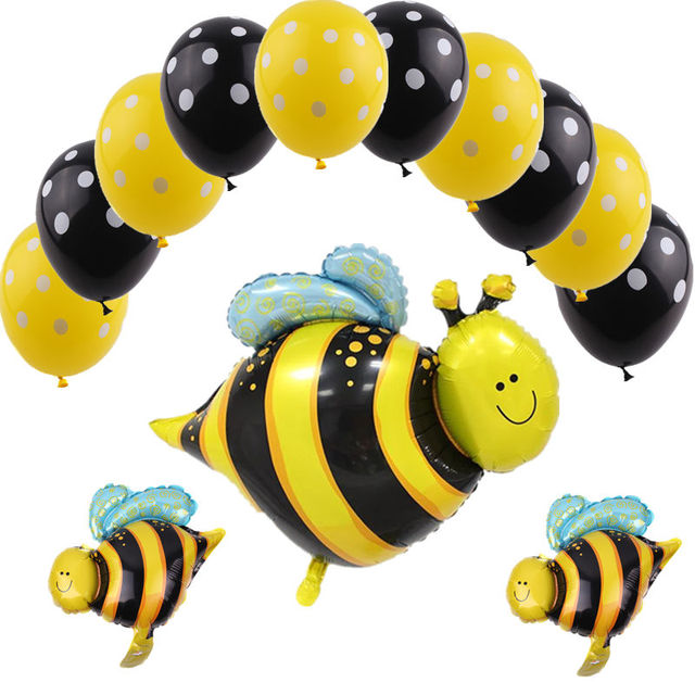 TSZWJ X-078 New series of bees aluminum balloons festival party decorations decorative balloons wholesale high quality