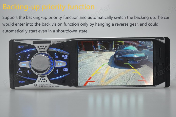 MP4 4.1'' mp5 screen