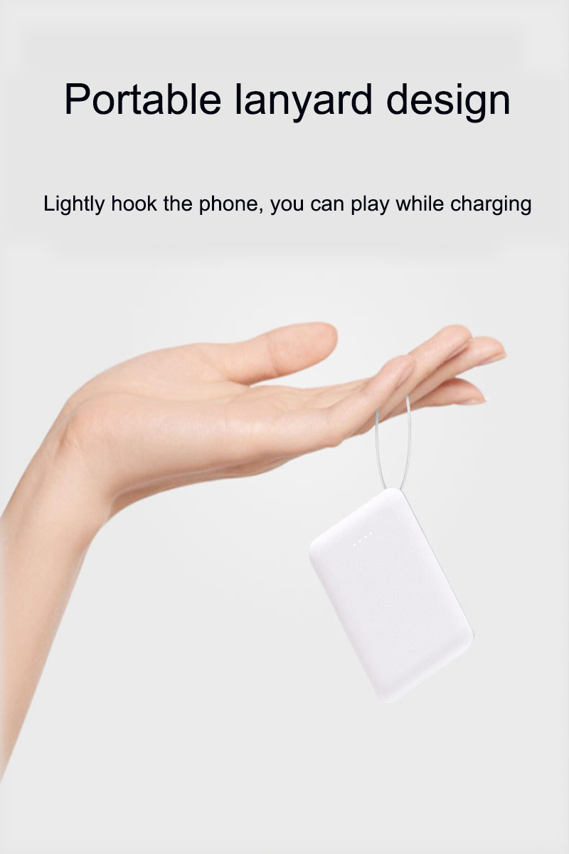 Small Portable 10000mAh Charging Power Bank For Xiaomi Mobile Phones 13