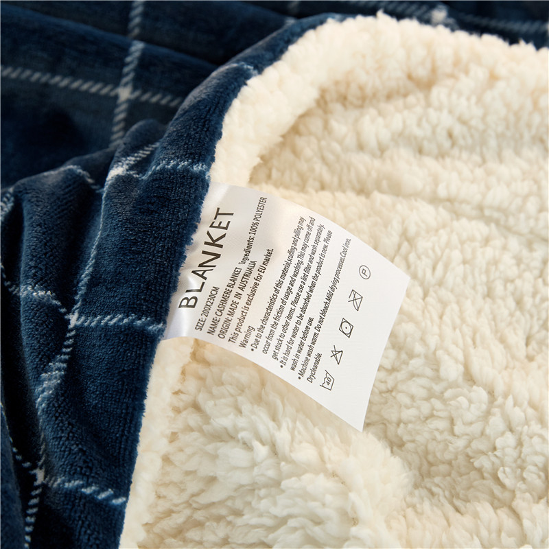 Hogar Natural vida cómoda manta suave leche terciopelo grueso manta ...
