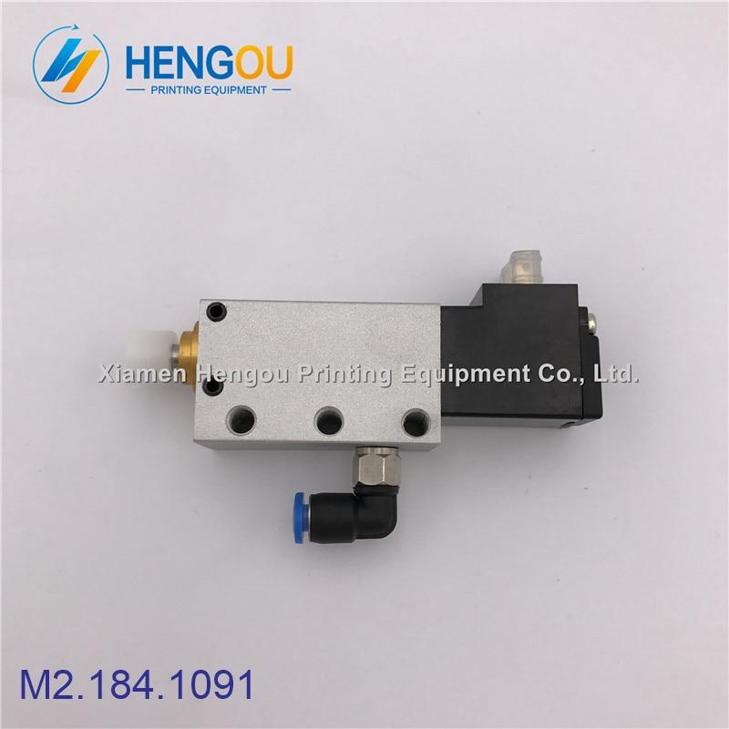 1 piece high quality Hengoucn SM102 CD102 valve AVLM-8-20-SA M2.184.1091 Hengoucn parts1 piece high quality Hengoucn SM102 CD102 valve AVLM-8-20-SA M2.184.1091 Hengoucn parts