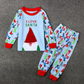 Long Sleeve T-shirt and Pants Pajamas Sets Leisure Sleepwear 2pcs Kids Clothing Ropa Para Ninos 2-7T Boys Girls Christmas Suits