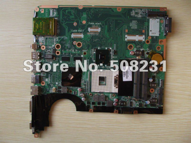 600816-001 for HP DV6 System board (motherboard) - With G105M chipset and 512MB memory ,100% Tested
