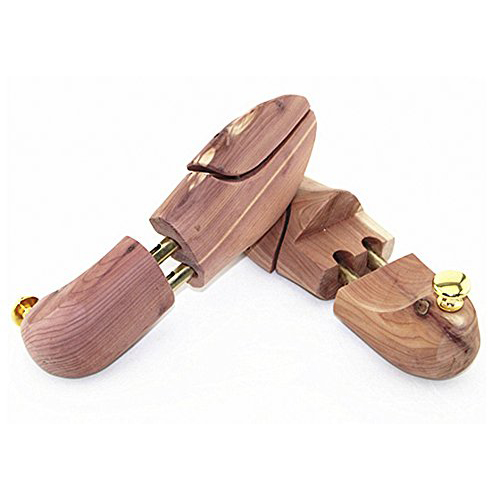 1 Pair of Wooden Shoe Tree Stretcher Shaper Keeper Adjustable Width---Men UK 11-12 ...