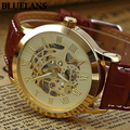 2015 hot Mens Roman Numerals Stainless Steel Automatic Mechanical Sport Wrist Watch 2KC4 6T5S