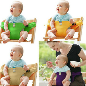 Baby Booster seats stretch wrap Foldable Portable Travel Product Safety Belt Infant Dining Lunch Mon Handfree Feeding High Chair(China)