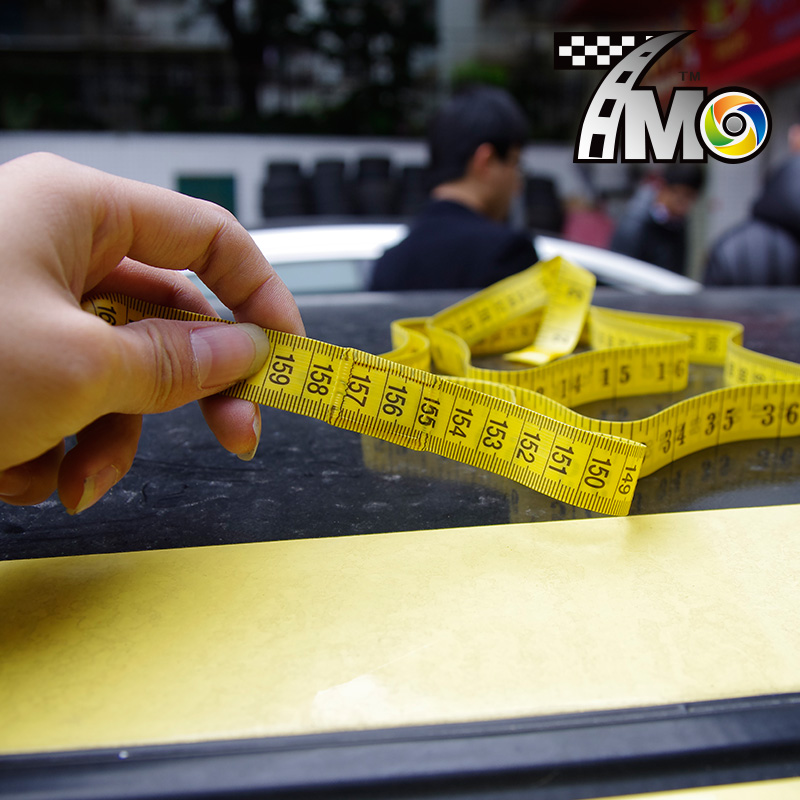 Image 2 - 3 Meter Measure Tape With Magnet Soft Measure Meter for Car Wrap Vinyl Install MO 190