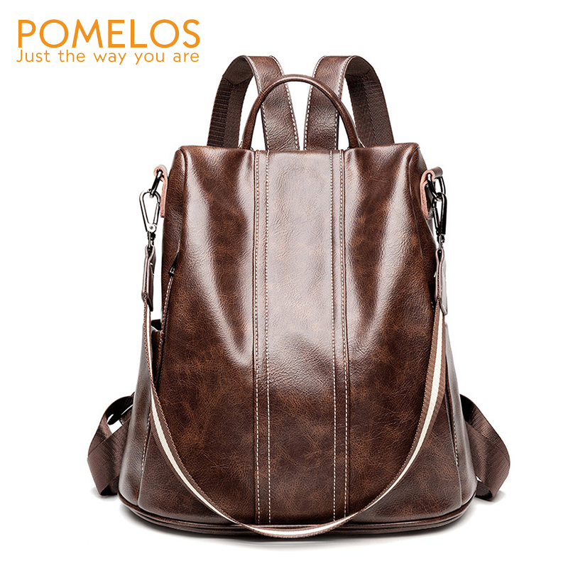 POMELOS Luxury Backpack Women Fashion Female Anti Theft Backpack Woman Fashion Ladies Backpack School Bags For Teenage GirlsPOMELOS Luxury Backpack Women Fashion Female Anti Theft Backpack Woman Fashion Ladies Backpack School Bags For Teenage Girls