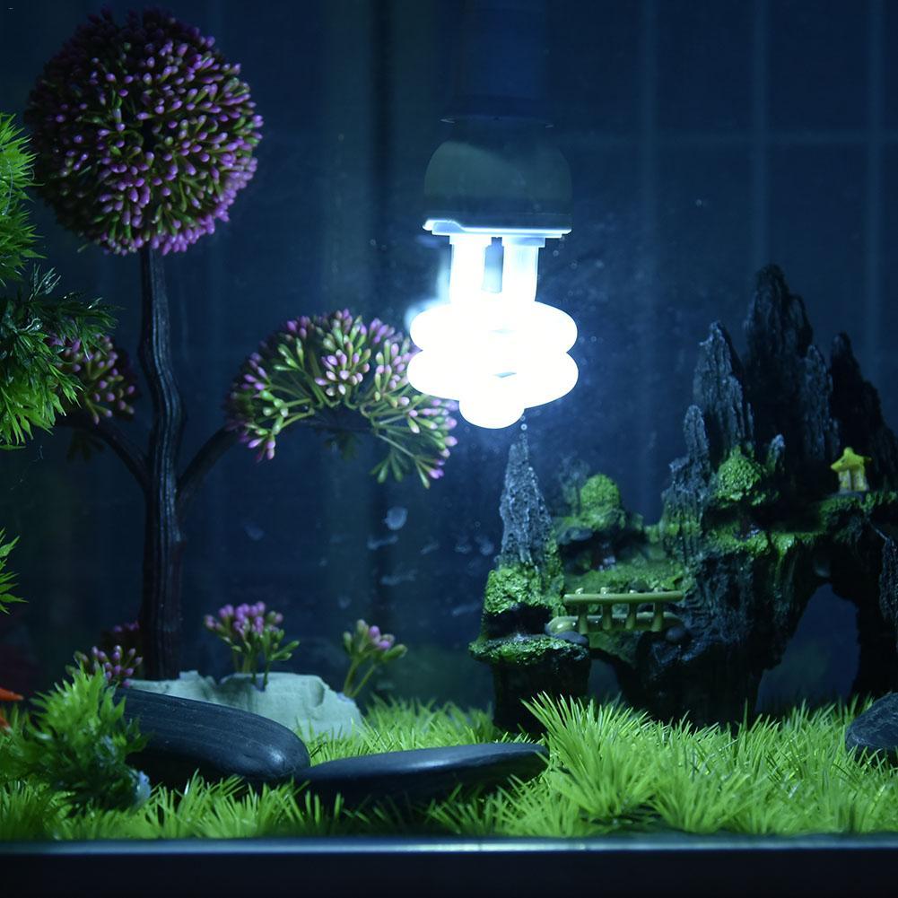 Ультрафиолетовый светильник лампочка E27 5,0 10,0 ультрафиолетовых лучей спектров 13 Вт ПЭТ свет для рептилии светильник светящаяся лампа Дневн...