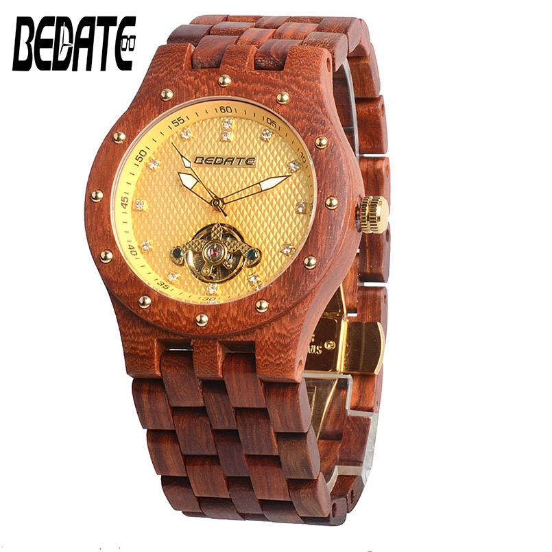 BEDATE Luxurious Business Mechanical Watches with Waterproof Simple Atmosphere Personality Men Wristwatches Limited Edition 131C frank buytendijk dealing with dilemmas where business analytics fall short