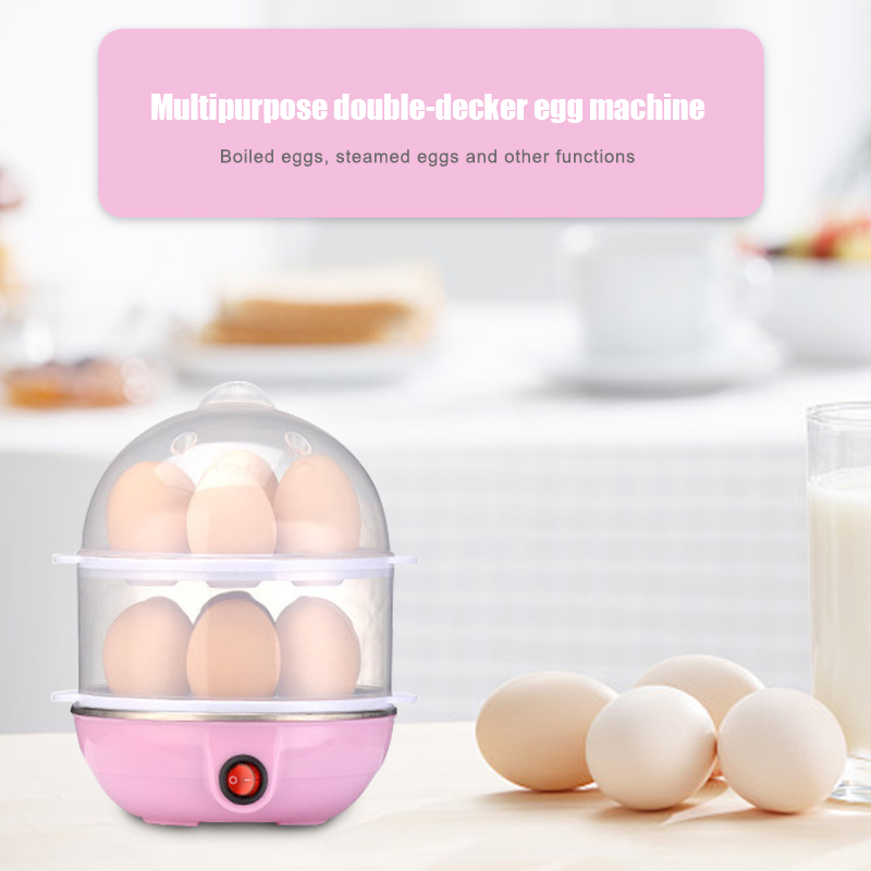 Electric Auto Off Egg Cooker Boiling 1 14 Eggs Boiler Steamed Cooking Tools Kitchen Utensil Egg Boilers