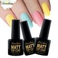 Saroline Matt Matte Top Coat Soak off Transparent Gel Lacquer UV LED Clear Matte Top coat Gel vernis semi permanent
