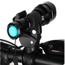 Спорт на открытом воздухе Велоспорт держатель велосипед фонарик biketorch держатель Поддержка зажим Фонари велосипед черный Аксессуары для велосипеда