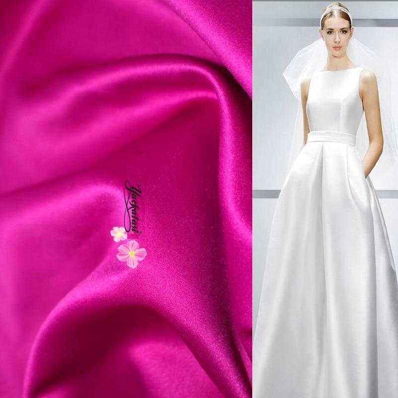 Hochzeit Kleid Satin Stoff Hohe Qualität 1 Mt Preis Brautkleider