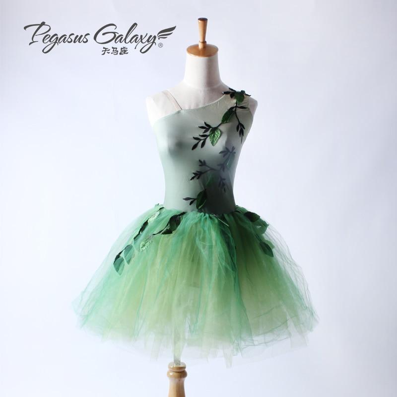 Professional Long Tutu Ballet Dress Children Adult Ballerina Dance Costume Ballet Leotards Dress For Women Unitard