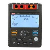 UNI T UT512 Digital Insulation Resistance Tester Meter Megohmmeter Low Ohm Ohmmeter Voltmeter Auto Range 2500v
