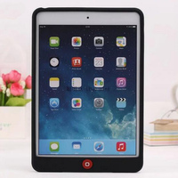 Smart Bean Jelly Cute Silicon Soft Gel Rubber Protective Cover Case For iPad Air 1 / Air 2 For iPad 2 3 4 5 6
