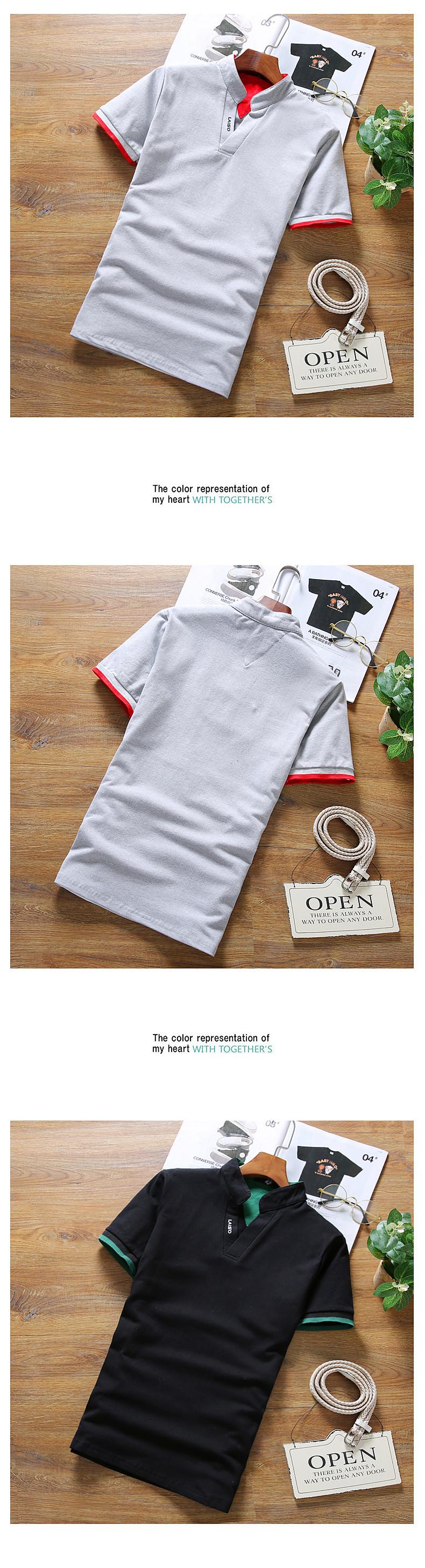2019 New Arrival Cotton Men Polo Shirt Tops Fashion Brand Plus Size Short Sleeve Black White Polo Shirt Homme Camisa 5XL 18