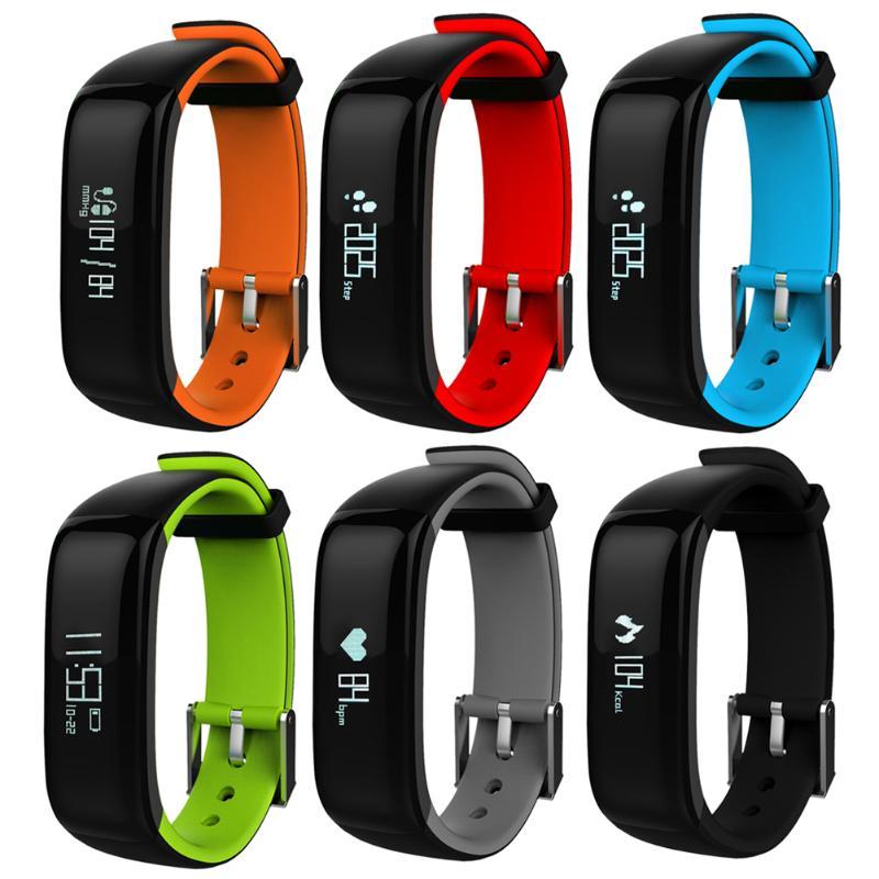 Étanche IP67 Bluetooth bande intelligente Bracelet montre tension artérielle santé sommeil moniteur moniteur de fréquence cardiaque Bracelet
