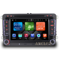 Two Din Android 5 1 Quad Core 1 6GHZ VW DVD Player GPS Navigation For VW