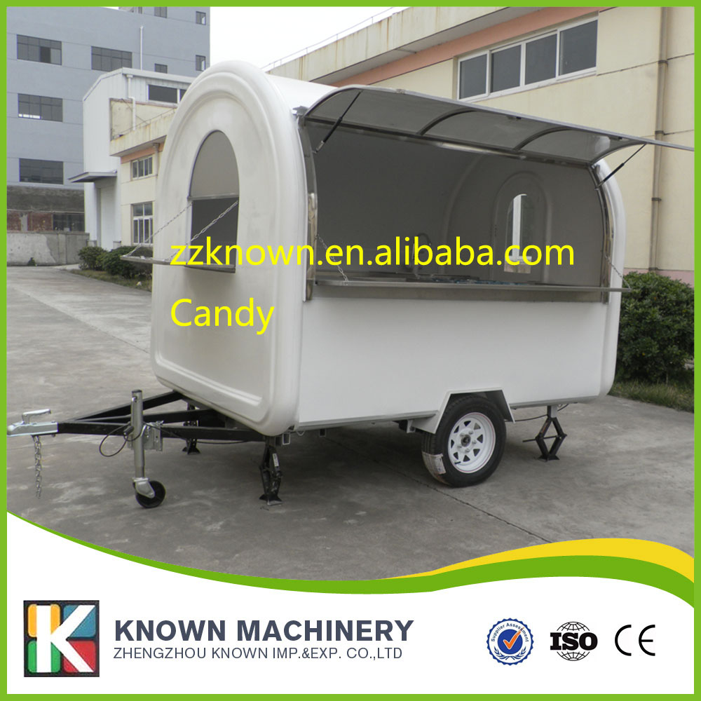 long 2.5m, Wide 2m food cart Can be cust