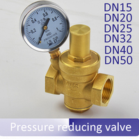 DN15 20 25 32 40 50 Thick All Copper Water Supply Water Pipes Pressure Reducing Valve
