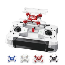 FQ777 -124 RC Pocket Quadcopter Micro Drone 4CH 6Axis Gyro Switchable Controller RTF UAV RC Helicopter mini drone