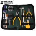2014 nueva alta calidad 18 unids/set Nylon reloj abrelatas de la caja Horologe herramientas de reparación ajustador práctico Portable Kit determinado de la caja