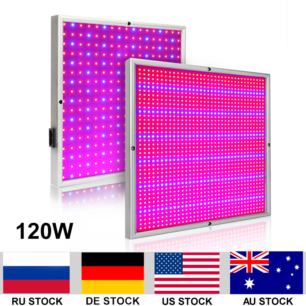 20W 120W Led Grow Light For Indoor Plants Tent Green House Vegs Aquarium Garden Horticulture And Hydroponics Grow/Bloom 120w 85 265v high power led plant grow light lamp for vegs aquarium garden horticulture and hydroponics grow eu plug