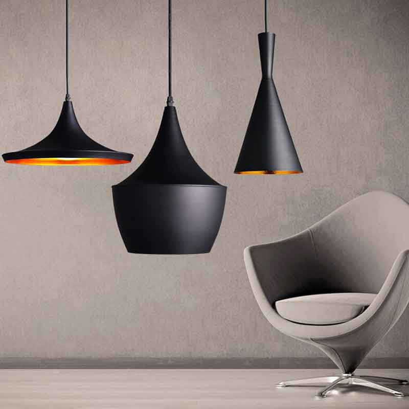 Retro Vintage Pendant Light Edison E26 E27 Nordic Gold Inner Hanging Lamp Restaurant Kitchen Light Dinging Innrech Market.com
