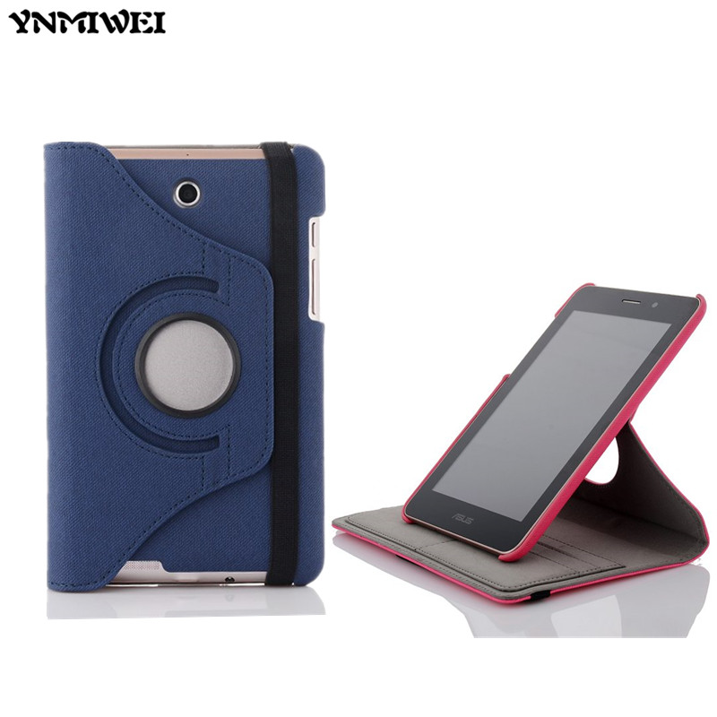 ME371 Cowboy Grain leather case for For ASUS Fonepad 7 ME371 ME371MG K004 7 Tablet Case +protector