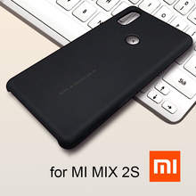 Original xiaomi mi mix 2s case cover mi mix 2 s global version full cover 64gb 128gb hard back pc xiaomi mi mix 2s case