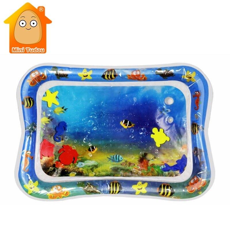 Bebê Mat Crianças Watermat Criativa Dupla Utilização de Água Brinquedos Da Água Do Bebê Esteira do Jogo Ginásio Atividade Tapis Enigma Tapete Jogos Para bebês