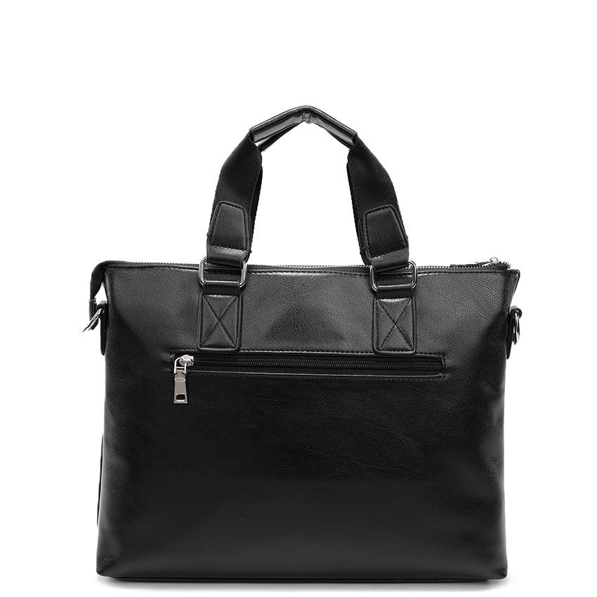 Men Casual Briefcase Business Shoulder Bag Leather Messenger Bags Computer Laptop Handbag Bag Men\'S Travel Bags